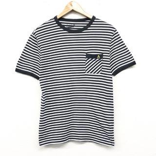 トップマン(TOPMAN)の TOPMAN トップマン メンズトップス メンズTシャツ サイズM ボーダー(Tシャツ/カットソー(半袖/袖なし))