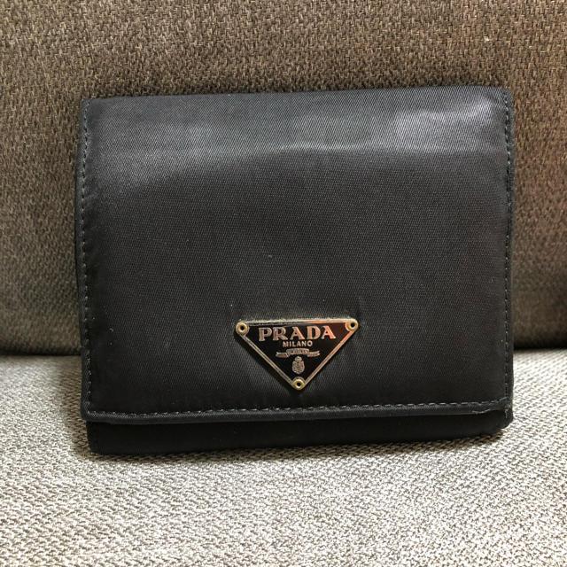 PRADA - プラダ PRADA 折財布の通販 by 腹キン's shop|プラダならラクマ