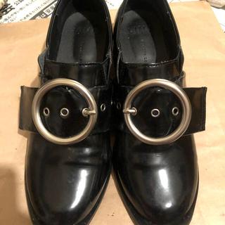 ディーホリック(dholic)の黒 ローファー ノーブランド(ローファー/革靴)