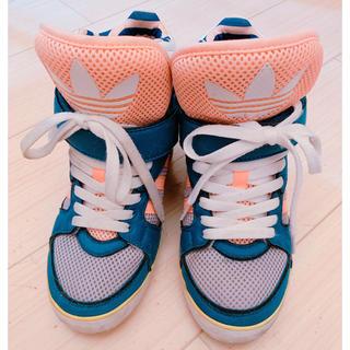 ダズリン(dazzlin)のdazzlin コラボスニーカー adidas(スニーカー)