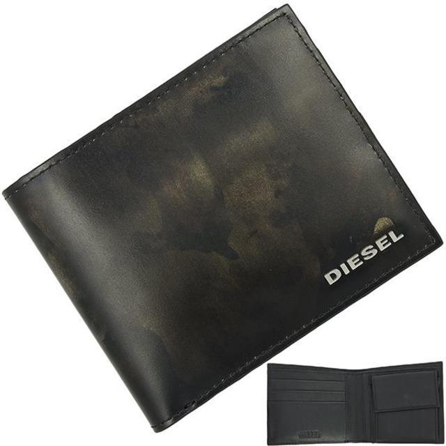 プラダ メンズ バッグ 中古 スーパー コピー 、 DIESEL - ディーゼル 二つ折り財布 迷彩柄 ブラックの通販 by papi's shop|ディーゼルならラクマ