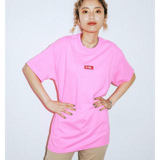 エックスガール(X-girl)の新品未使用 x-girl Tシャツ ブルー(Tシャツ(半袖/袖なし))