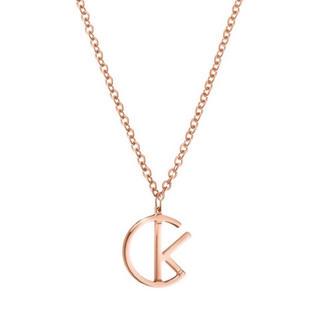 カルバンクライン(Calvin Klein)のCALVIN KLEIN-ネックレス League ピンクゴールド(ネックレス)