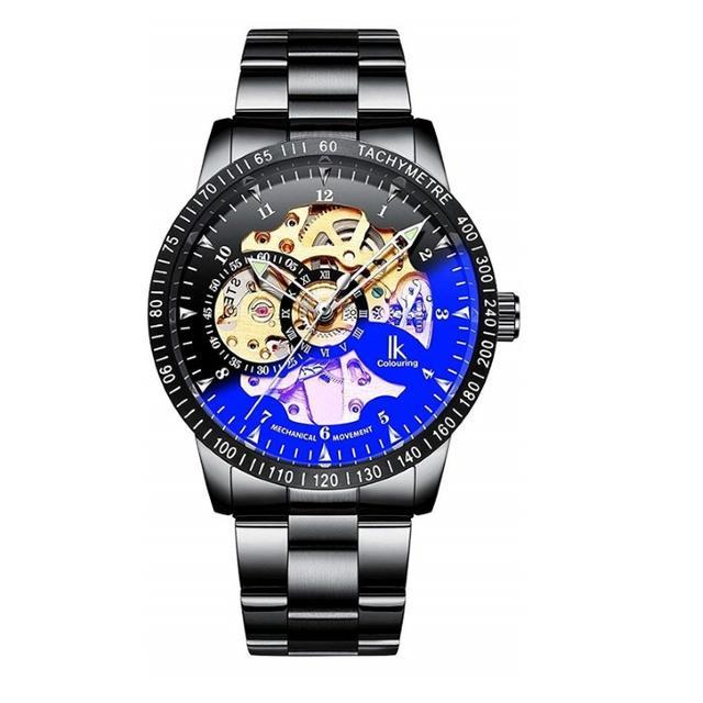 ラルフ・ローレンスーパーコピー時計激安 | 腕時計 スケルトン ブラックバンド 自動巻き IH009 メンズの通販 by トモ's shop|ラクマ