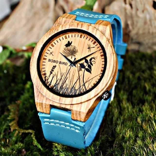 ユンハンスコピー楽天 | 【B.B.BOBO BRIDブルーウッド】メンズ レディース 腕時計の通販 by レビサウンド's shop|ラクマ