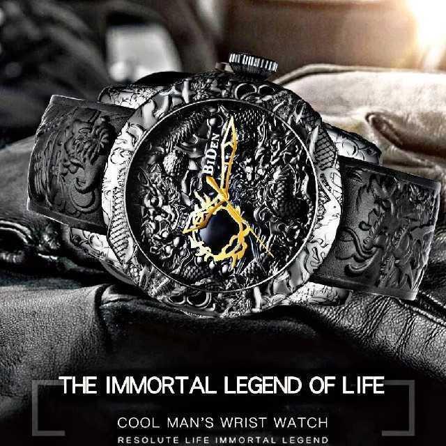 ブランドコピー 大阪 / 【海外限定ウォッチ】Bidin黒龍モデル 腕時計 メンズ ウォッチ ブラックの通販 by さとこショップ|ラクマ