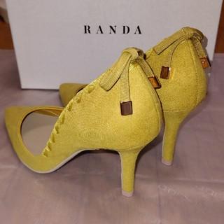 ランダ(RANDA)の新品☆RANDA バックレースアップパンプス22cm(ハイヒール/パンプス)