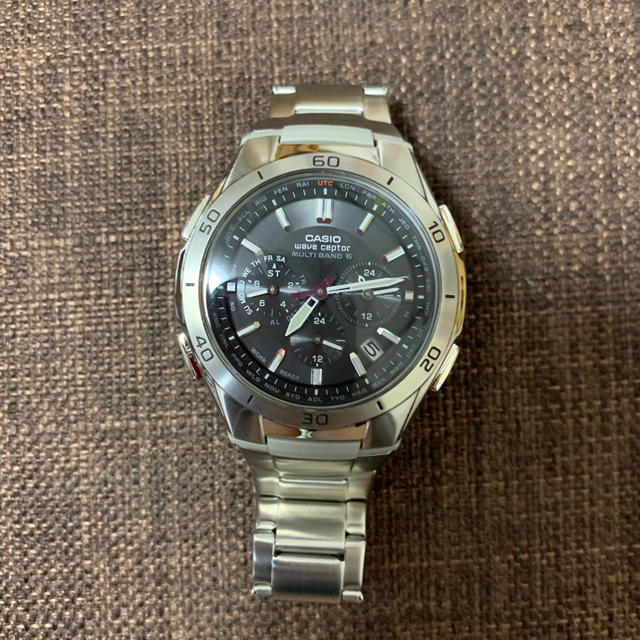 モーリス・ラクロア時計コピー値段 - CASIO - CASIO wevecepter 腕時計 美品の通販 by ママいー's shop|カシオならラクマ