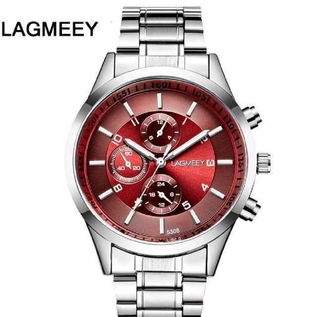 パテックフィリップコピー国内発送 | 【海外限定モデル】LAGMEEY  レッドアイ メンズ 腕時計 ウォッチの通販 by レビサウンド's shop|ラクマ