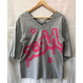 エックスガール(X-girl)のX-girl サイズ2 Tシャツ ビックシルエット(Tシャツ(半袖/袖なし))