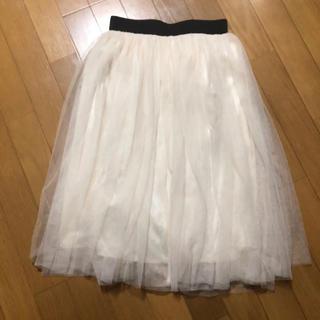 ジーユー(GU)の未使用♡coca チュールスカート(ひざ丈スカート)