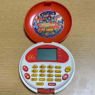 マクドナルド(マクドナルド)の入手困難 マクドナルド お仕事チャレンジ マクドナルドレストラン昔のおもちゃ(知育玩具)