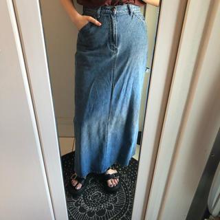 ロキエ(Lochie)のdenim long skirt(ロングスカート)