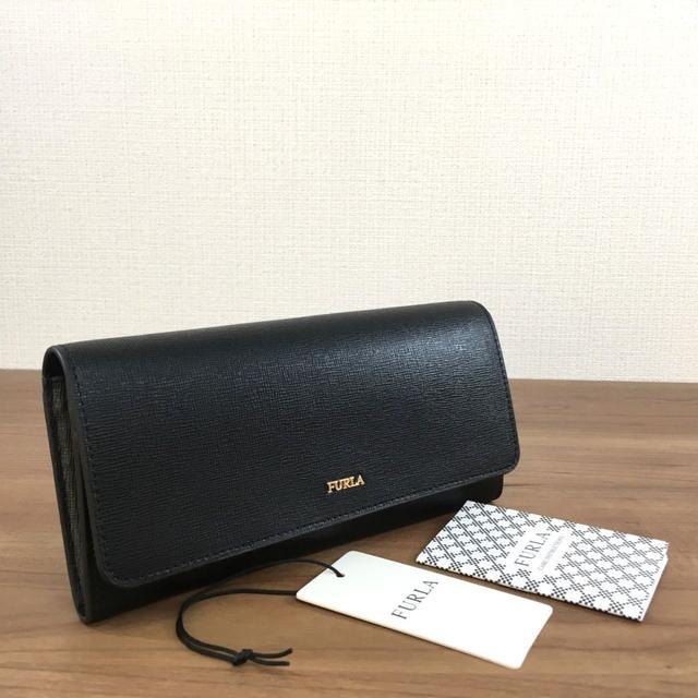 Furla - 新品 フルラ 長財布 ブラック レザー シンプル 冊子 タグ付き 213の通販 by ちー's shop|フルラならラクマ