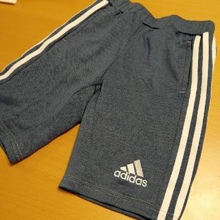 アディダス(adidas)の【値下】新品☆120㎝【adidas】キッズ  デニム風ハーフパンツジュニア(パンツ/スパッツ)