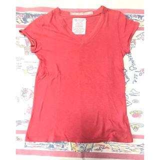 ゴートゥーハリウッド(GO TO HOLLYWOOD)のGoToHollywood☆VネックTシャツ150デニム&ダンガリー(Tシャツ/カットソー)