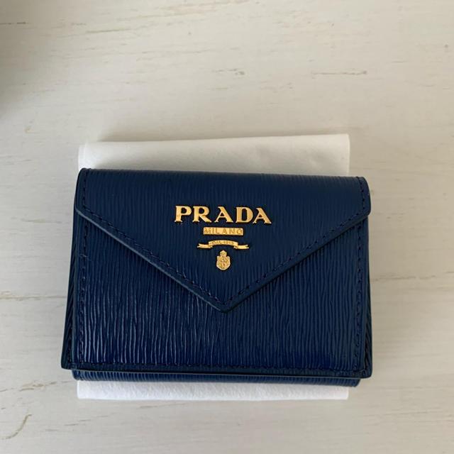 PRADA - PRADA✳︎プラダ ミニ財布 三つ折り財布 の通販 by えみお's shop|プラダならラクマ