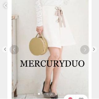 MERCURYDUO - 【MERCURY DUO】ブッチャーレースアップミニスカート23