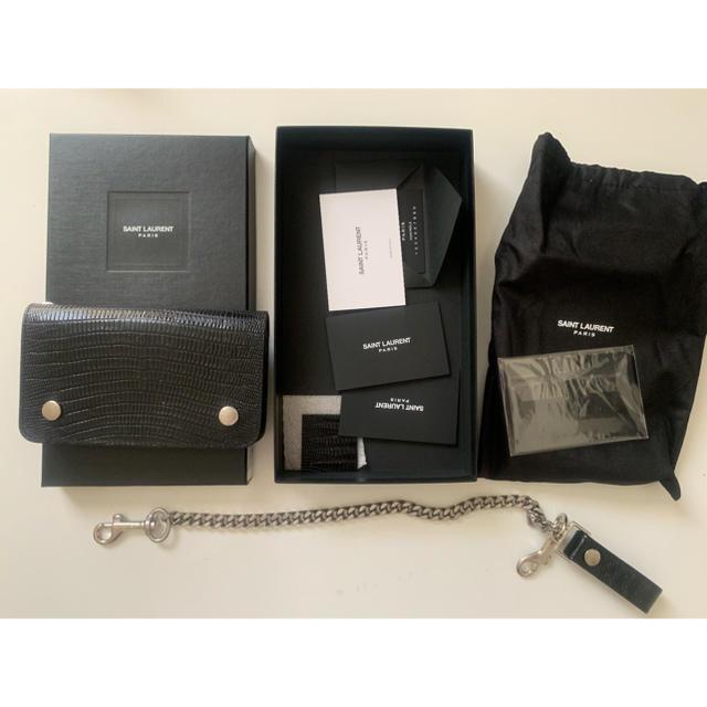 時計 レディース 価格 偽物 、 Saint Laurent - サンローラン ウォレット チェーン付き クロコダイル saintlaurentの通販 by crow104's shop|サンローランならラクマ