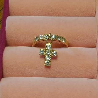 18金ダイヤモンドリング(リング(指輪))