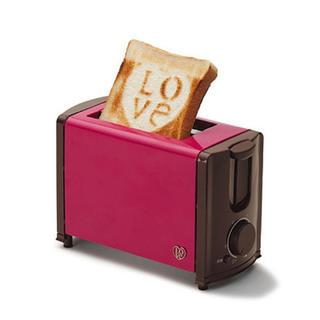 フランフラン(Francfranc)のFrancfranc ポップアップトースター LOVE(調理機器)