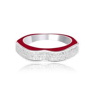 情熱リップ リング 指輪 シルバー silver(リング(指輪))