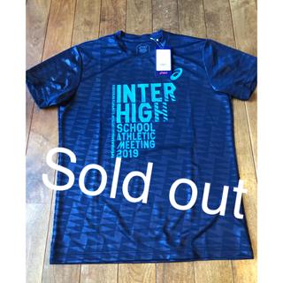 アシックス(asics)の2019南九州インターハイ記念Tシャツ asics 高校総体 バレーボール(バレーボール)