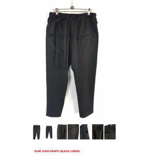 ヤブヤム(YAB-YUM)のヤブヤムslim Judo pants リネン(スラックス)