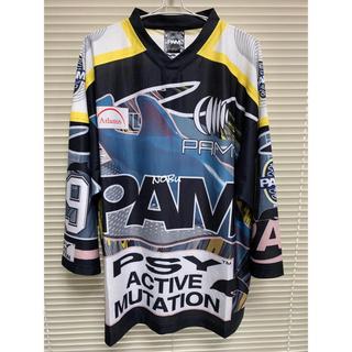 パム(P.A.M.)のP.A.M.【 Perks and Mini 】 ホッケーシャツ Tシャツ パム(Tシャツ/カットソー(半袖/袖なし))
