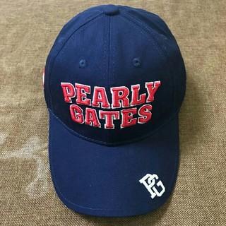 パーリーゲイツ(PEARLY GATES)のPEARLY GATES キャップ 帽子 ファッション  ネイビー(キャップ)