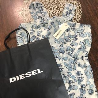 ディーゼル(DIESEL)のSALE!新品 タグ付き DIESEL レディース ノースリーブ ブラウス(シャツ/ブラウス(半袖/袖なし))