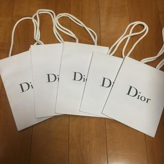 ディオール(Dior)の D ior 紙袋  5枚(その他)