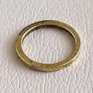 (60)ゴールドのピンキーリング ヴィンテージ(リング(指輪))