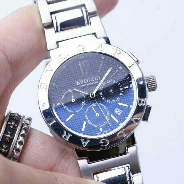 ブランドコピー時計激安 | BVLGARI - BVLGARI 時計 メンズ ブルガリ 40mm腕時 の通販 by de7ytb_7724's shop|ブルガリならラクマ