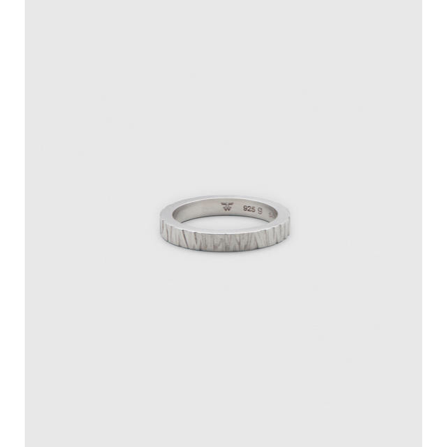 TOMWOOD Structure Ring メンズのアクセサリー(リング(指輪))の商品写真