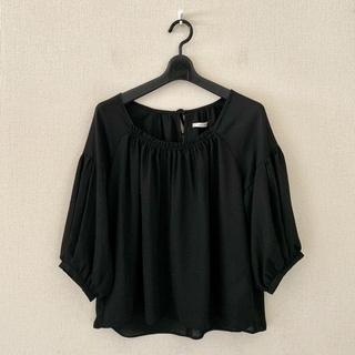アーバンリサーチ(URBAN RESEARCH)のアーバンリサーチ♡黒色のプルオーバーシャツ(シャツ/ブラウス(長袖/七分))
