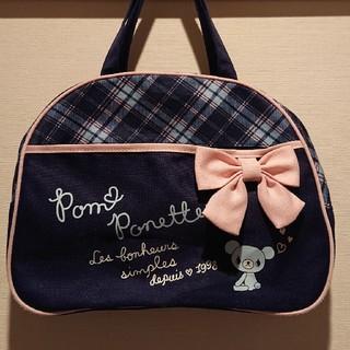 ポンポネット(pom ponette)のポン ポネット ミニボストンバッグ レッスンバッグ(レッスンバッグ)