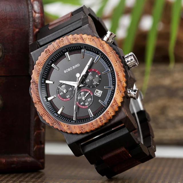 パテックフィリップノーチラス スーパーコピー時計 人気 、 木のぬくもり♬BOBO BIRD タイムピースクロノ 腕時計!天然木材が素敵♬の通販 by 弾丸発送♬appoggio's shop|ラクマ
