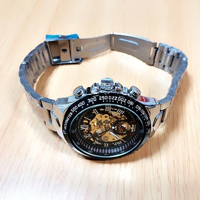 モーリス・ラクロア偽物時計激安優良店 | メンズ 腕時計 ウォッチ 自動巻 スケルトンモデル 機械式 ダイバーズ 3針の通販 by Mikas shop|ラクマ