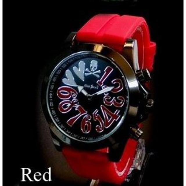 チュードル 腕時計 偽物 | スカル J-STAR ビッグフェイス 赤 ラバーベルト ハイドロゲン ロエン フの通販 by 桃太郎&金太郎 shop|ラクマ