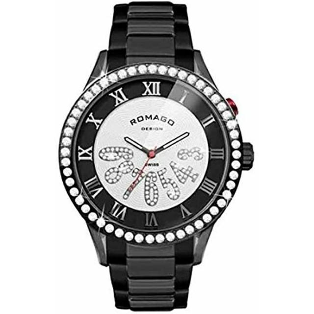 スーパーコピー時計 電池 | ROMAGO DESIGN - ROMAGO DESIGN 腕時計 luxury series ブラックの通販 by miro's shop|ロマゴデザインならラクマ