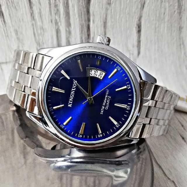 ブルガリセルペンティ コピー優良店 、 【海外限定モデル】 KINGNOUS7720 オーシャンブルー 腕時計の通販 by レビサウンド's shop|ラクマ