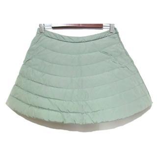 モンクレール(MONCLER)のモンクレール GONNA ダウン スカート 42 国内正規品(ミニスカート)