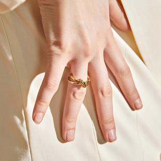 ローリーズファーム(LOWRYS FARM)のKnot gold ring No.125(リング(指輪))