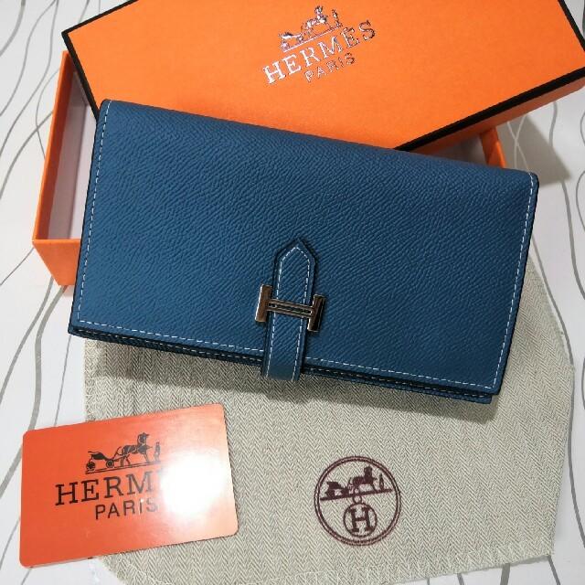 時計 ブルー レディース スーパー コピー | 折り 人気  財布 エルメス 二つたたみ 開閉式 刻印ロゴ  の通販 by SENZC8's shop|ラクマ