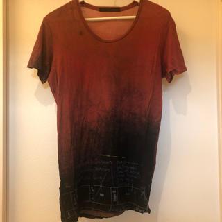 ユリウス(JULIUS)のjulius ユリウス 7周年限定 グラデーション tシャツ(Tシャツ/カットソー(半袖/袖なし))