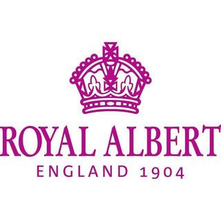 ロイヤルアルバート(ROYAL ALBERT)の27cm2枚セットロイヤルアルバートポルカローズモダン(食器)