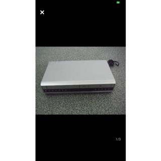 動作品★TOSHIBA 一体型 DVD/ビデオデッキ シルバー SD-V400 (DVDプレーヤー)