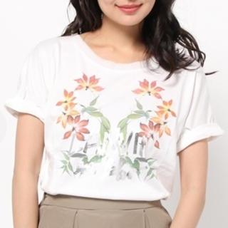ランバンオンブルー(LANVIN en Bleu)のガーリーT(Tシャツ(半袖/袖なし))
