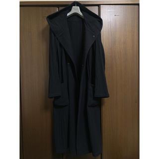 ヨウジヤマモト(Yohji Yamamoto)の  ヨウジオム 縮絨フードコート 【923】(チェスターコート)